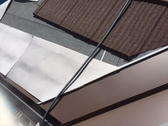 スターター板金設置、断熱材敷設