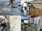 高槻市で瓦屋根工事、外壁修復工事、外壁塗装工事を行ったお宅での案件です。 大阪北部地震で屋根瓦が大きく損壊し、モルタル外壁にも多くのひび割れが生じました。