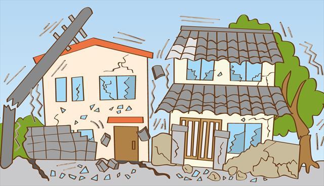 高槻市、茨木市を震源に大阪北部地震は北摂地域に多くの被害を出し、茨木市の瓦屋根の大棟が大きく崩れた。