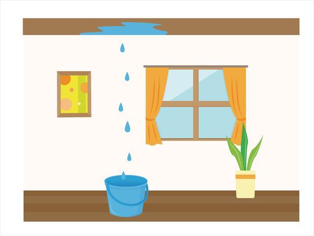 雨漏りは部屋内が濡れて認識するが、実はもっと前から浸水していることが多いので深刻です。