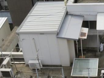 屋上や陸屋根によく設置されているプレハブは居住に向くのか