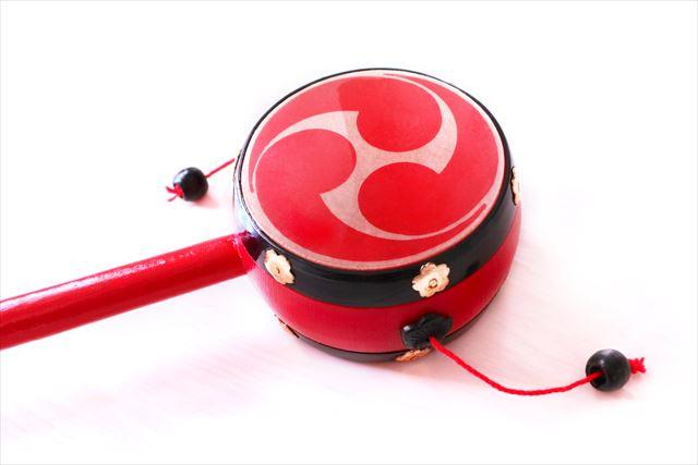 デンデンはデンデン太鼓に形が似ていることから呼ばれるようになった。