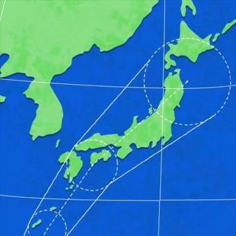 6月27日台風が今年初めて日本列島に上陸する可能性があると報じられています。 今回は3号なので、すでに2回発生していることになります。