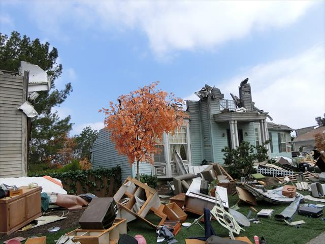 賃貸契約を継続できない不可抗力とは震災被害を受けて屋根や外壁など躯体部分が損壊し、建物の安全強度を保つことが出来なくなった状態。