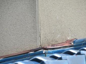 外壁に生じているクラックは雨漏りする可能性が高いので侮ってはいけません