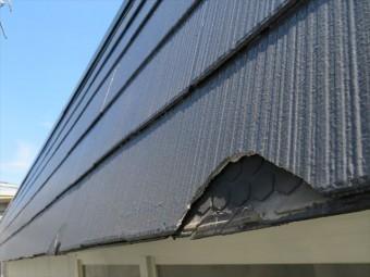 地震の影響はカラーベストにも及んだ