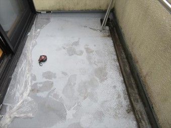 FRP防水工事のカバー工法