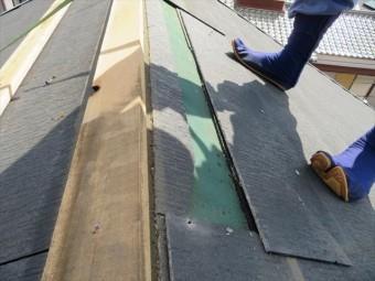 カラーベストは飛来物が激突したり、強風に煽られて割損した時に、部分交換ができる場合が多く、部分補修の簡易性ではガルバリウム鋼板よりも優位性が高いと言えます。