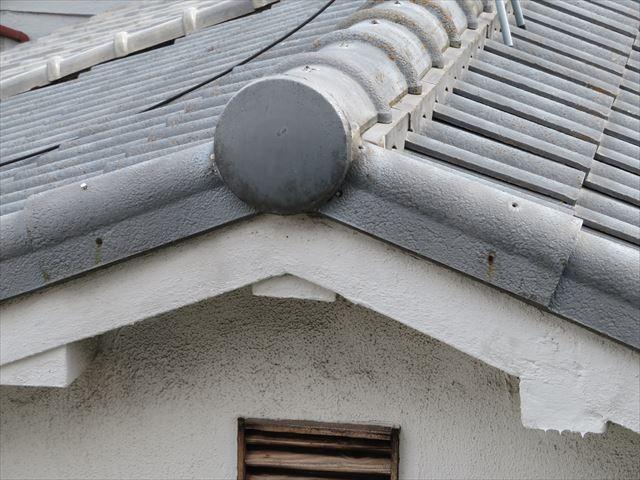 外壁と同じモルタル葺きの破風板は火災強度が抜群です