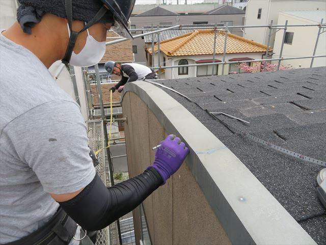屋根工事前に屋根寸法の再計測が作業効率を上げる