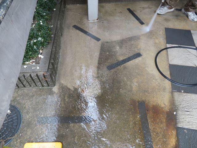 高圧洗浄機の威力は頑固な汚れをここまで落とす