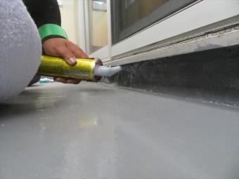 屋上やベランダ、バルコニーのウレタン防水にはウレタンコーキングが適している