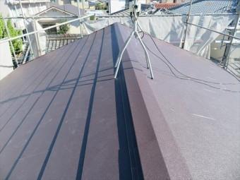 棟とは屋根面と屋根面が接した一番高い部分を言います。それが屋根の中腹でも、出会う屋根面にとっては一番高い部分には変わりありません。 切妻屋根の場合、屋根面と屋根面が接する一番高い部分は大棟です。