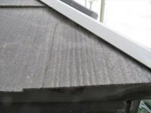 ひび割れが生じていたカラーベストは差し替えせずとも補修で十分に再生する