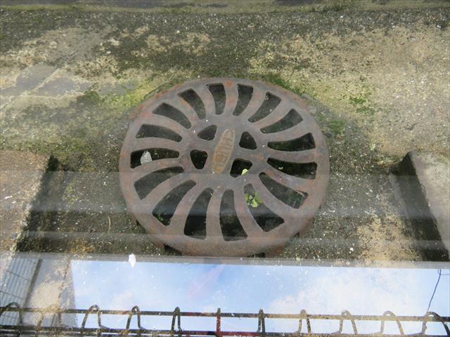 陸屋根の排水口を詰まらせてしまい、満々と雨水が溜まってしまった状態は、スラブ土間(床面)から浸み込む危険性もある