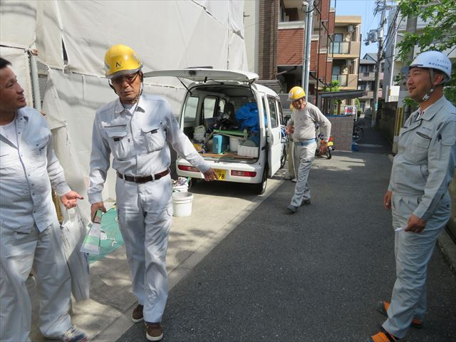 KYミーティングは建築作業の基本中の基本で労働安全衛生法でも定められている