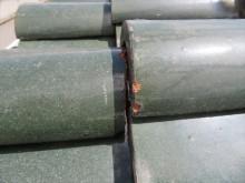 凍て割れ、凍み割れは瓦の端部に多く見られる