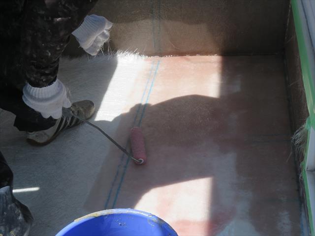 FRP防水は安価でありながら防水能力とその耐久性が高い事から最強の防水工法と呼ばれる