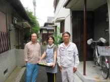 茨木市で地震台風被害でガルバリウム屋根に葺き替えたお客様の声
