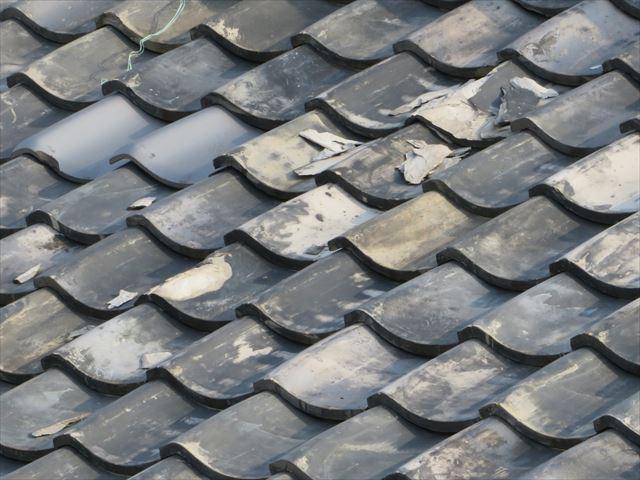 日本瓦(燻し瓦)の凍て割れ、凍み割れ