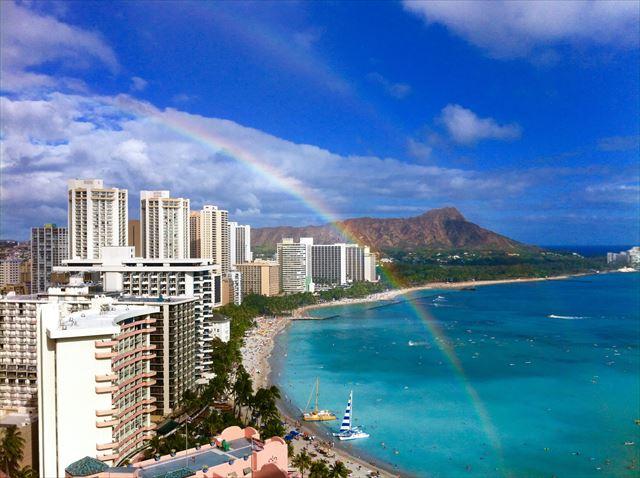 虹の「赤・橙・黄・緑・青・藍・紫」の外の波長で目に見えない光線が紫外線です