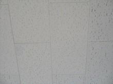 天井の仕上げ材にもアスベストが含まれていた